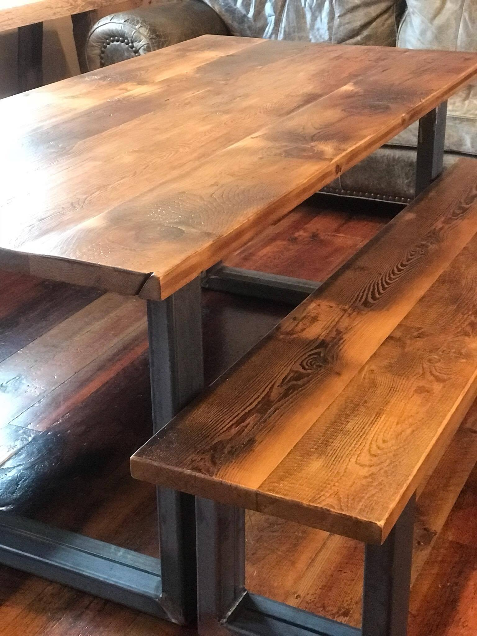Outstanding Reclaimed Wood Plank Tables And Countertops Sylvan Brandt Download Free Architecture Designs Scobabritishbridgeorg