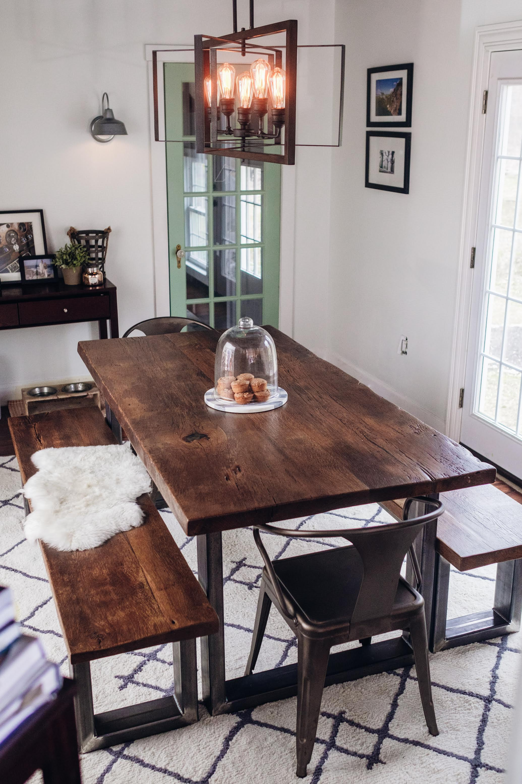 Reclaimed Wood Plank Tables And Countertops Sylvan Brandt