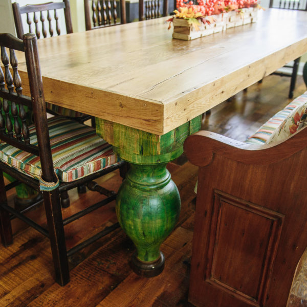 Tyler's Wood Plank Tables