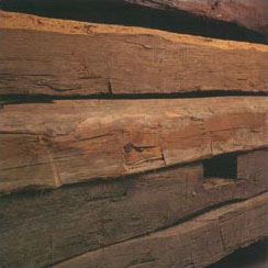 Hand-Hewn Beams